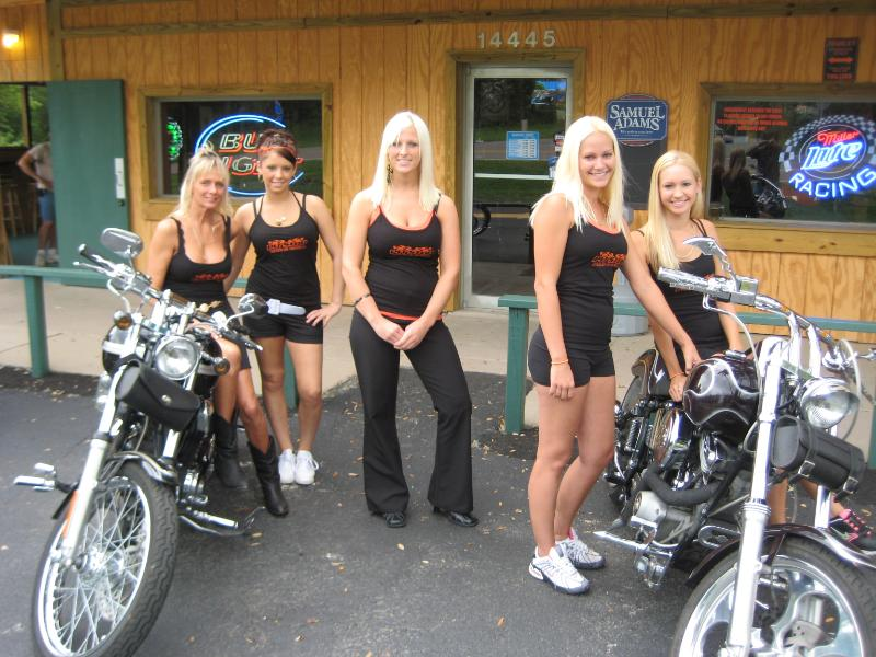 Blonde Biker Chicks